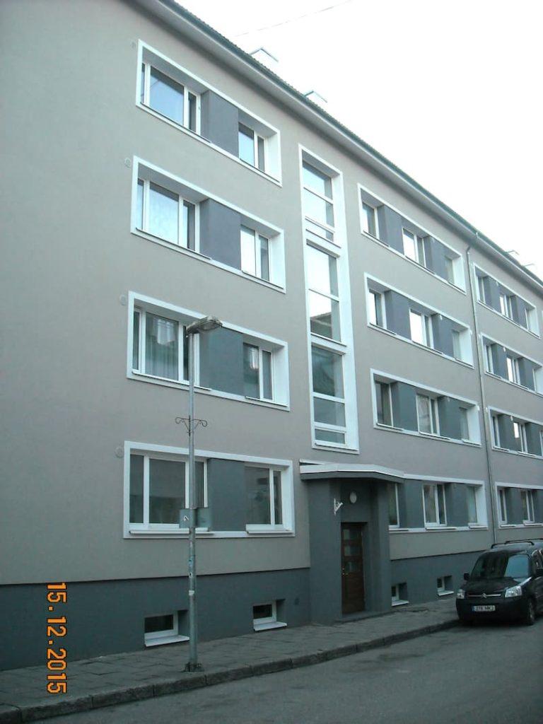 Nikolai 18 – paremini rekonstrueeritud korterelamu auhind Pärnus 2015